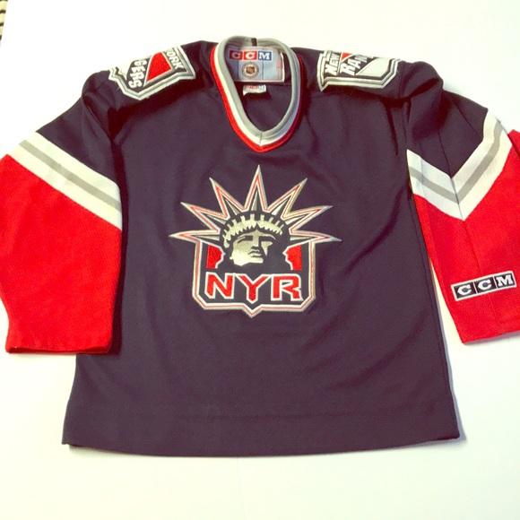 buy popular ce2e9 d03ac Vintage New York Rangers Lady Liberty CCM Jersey!!